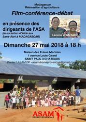 Film-Conférence-débat ASAM Drôme Provencale