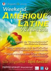 Week end Sud Américain - Concert de Guanabana (Brésil)